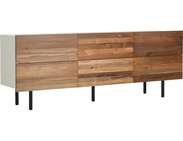 Low 6 Drawer Dresser by EQ3