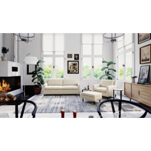 Auvray 3 Piece Sleeper Configurable Living Room Set by Winston Porter