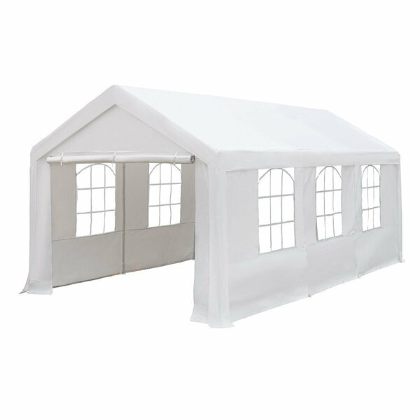 10 Ft. W X 20 Ft. D Garage By Abba Patio.