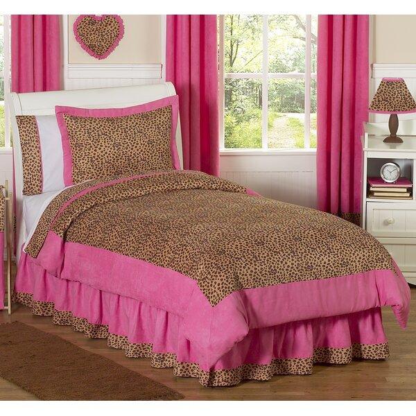 Cheetah Pink 3 Piece Comforter Set by Sweet Jojo Designs