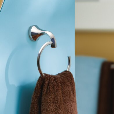 Eva Wall Mounted Towel Ring by Moen
