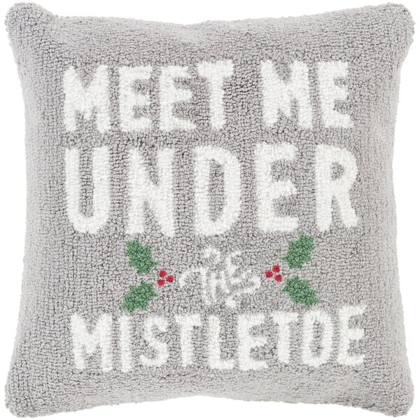 Meet Me Winter Throw Pillow by The Holiday Aisle