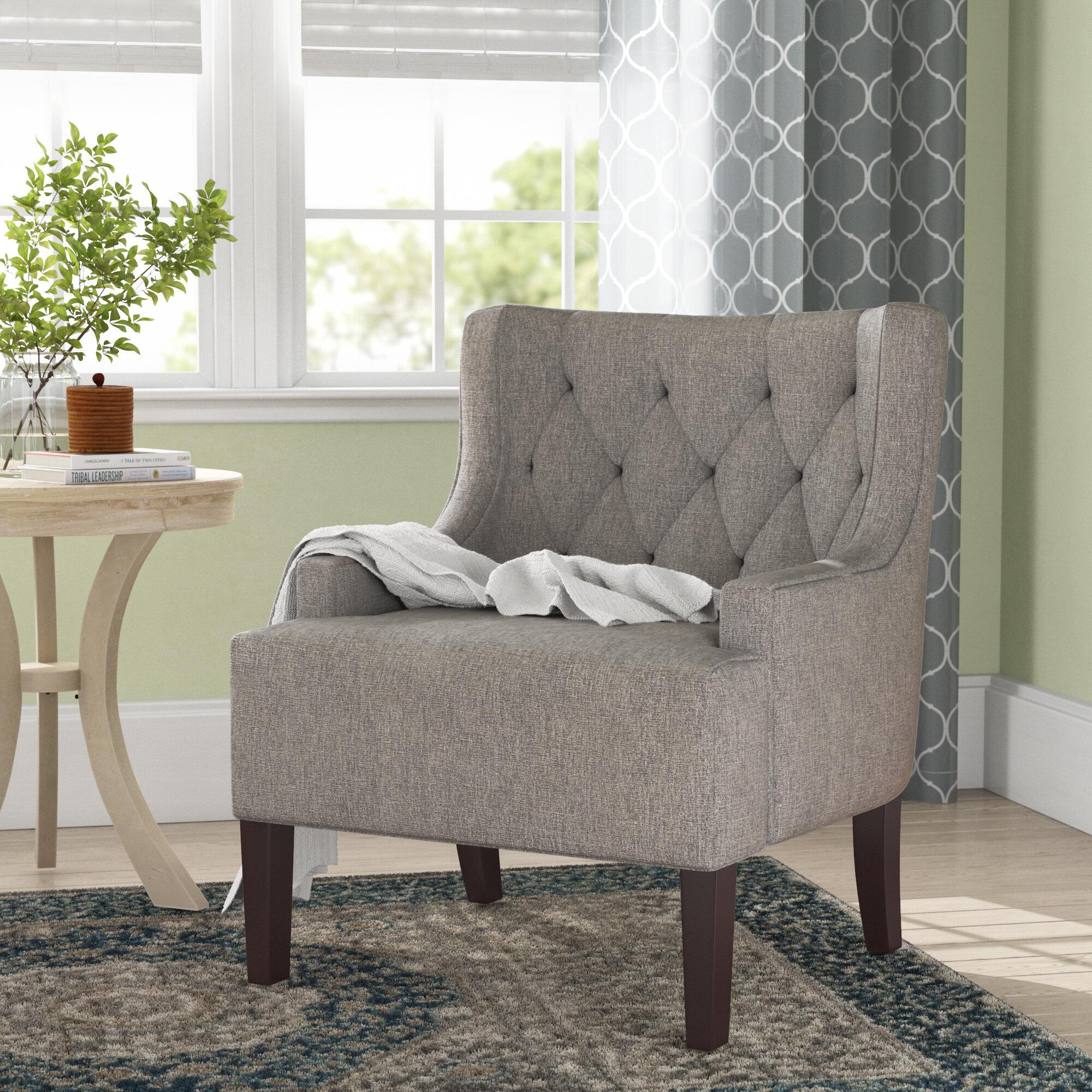 Three posts barwood wingback chair reviews wayfair