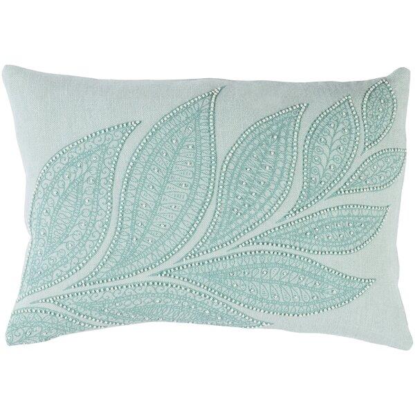 Tessie Linen Throw Pillow by House of Hampton