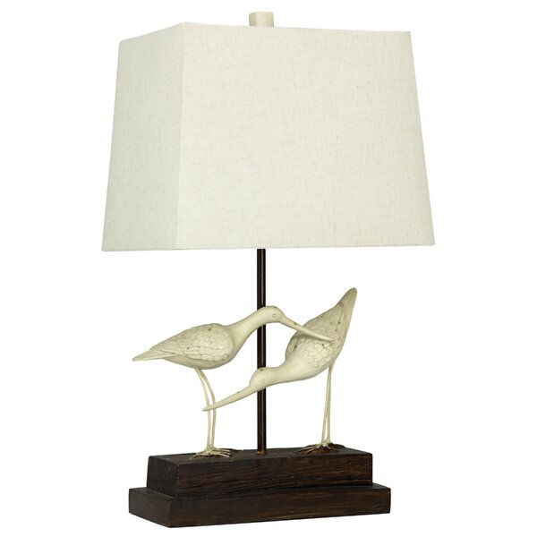 Glenva Sandpipers on Sand 28 Table Lamp by Bay Isle Home