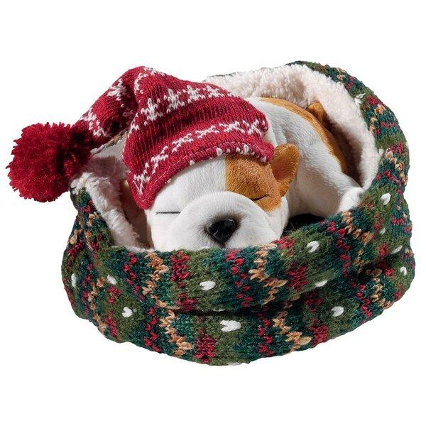 Sleepy Time Bulldog Puppy Dog by Design Toscano