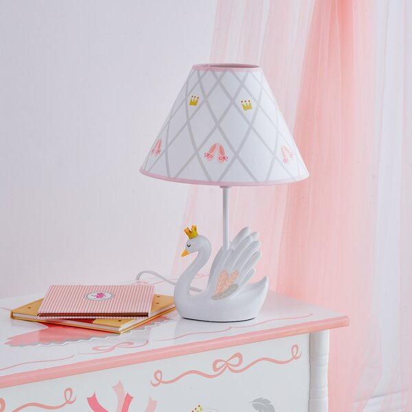 Swan Lake 14.5 Table Lamp by Fantasy Fields