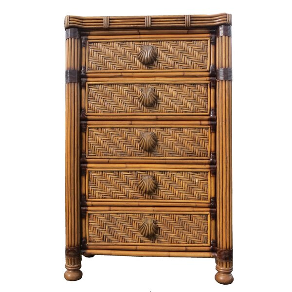 Popel Highboy 5 Drawer Chest by Bayou Breeze