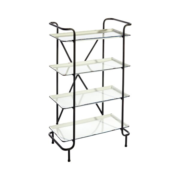 Barner 4 Tiered Etagere Bookcase by Brayden Studio