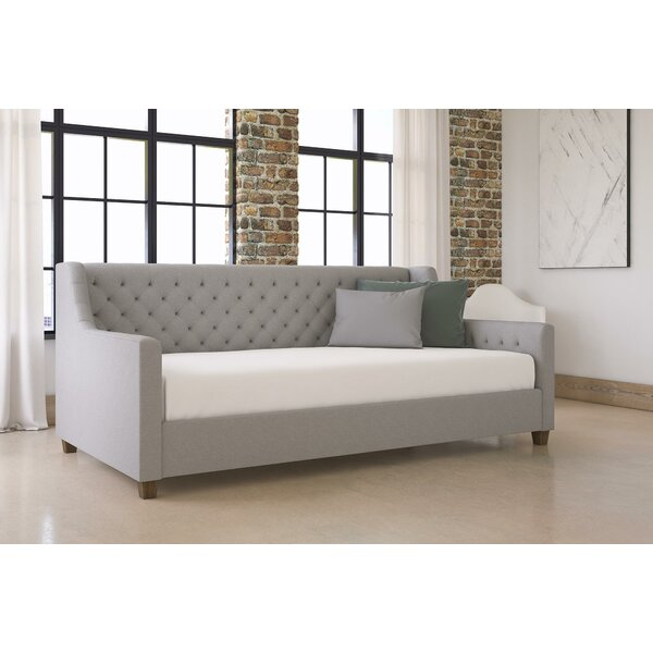 Elle Twin Daybed with Mattress by Alcott Hill