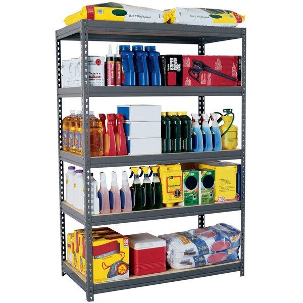Boltless Rivet 72 H Five Shelf Shelving Unit by Sandusky Cabinets