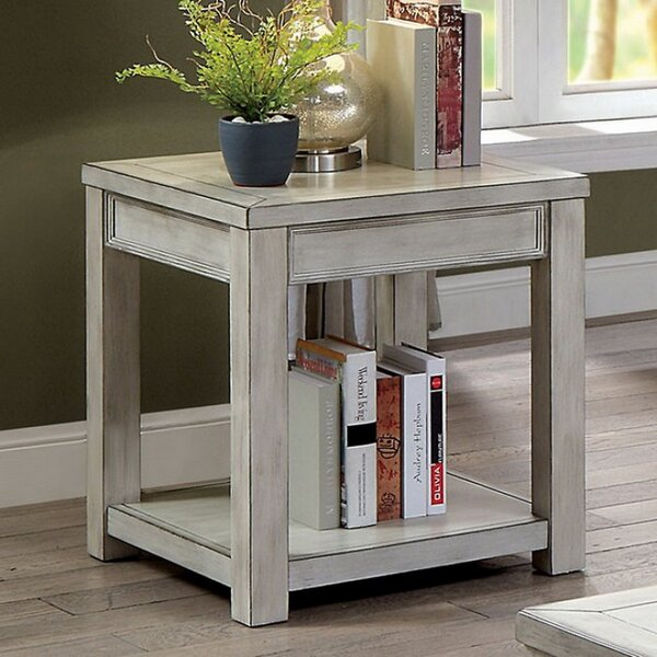 Malachi End Table by Alcott Hill