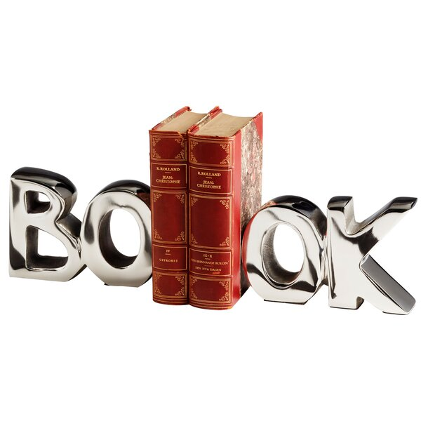 The Book Bookends (Set of 2) by Cyan Design