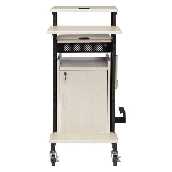 Premium Plus Presentation AV Cart Full Podium by O