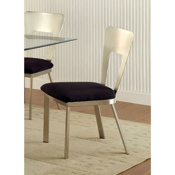Roy Upholstered Dining Chair (Set of 2) by Orren Ellis