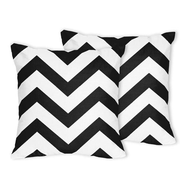 Chevron Throw Pillow (Set of 2) by Sweet Jojo Designs