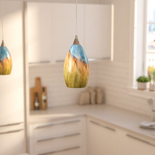 Noi 1-Light Cone Pendant by Zipcode Design
