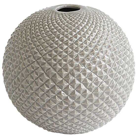 Diamond Cut Globe Vase by DwellStudio