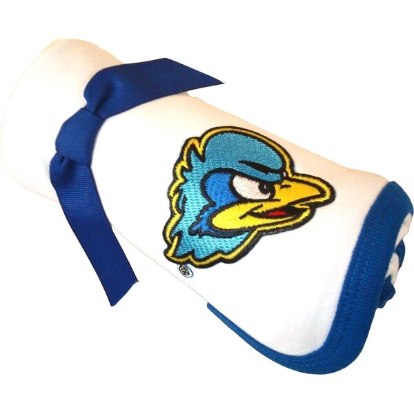 Delaware Blue Hens Baby Receiving Blanket by Future Tailgater