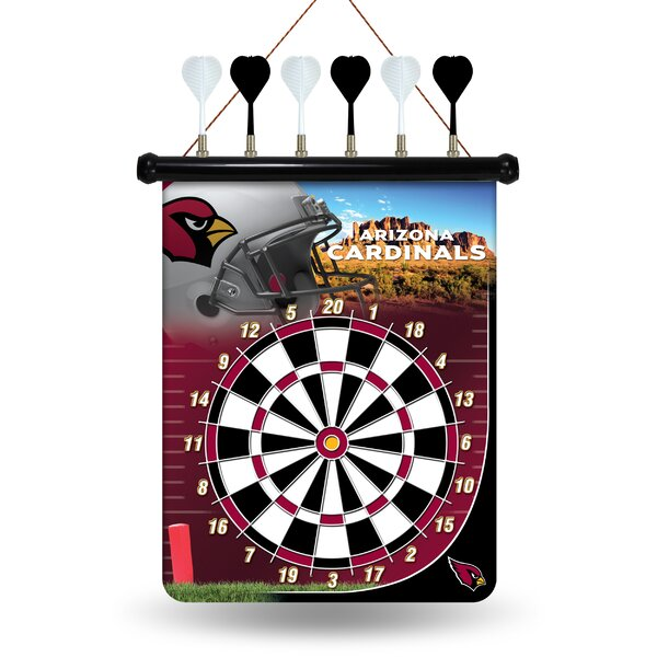 NFL Magnetic Dartboard Set by Rico Industries Inc