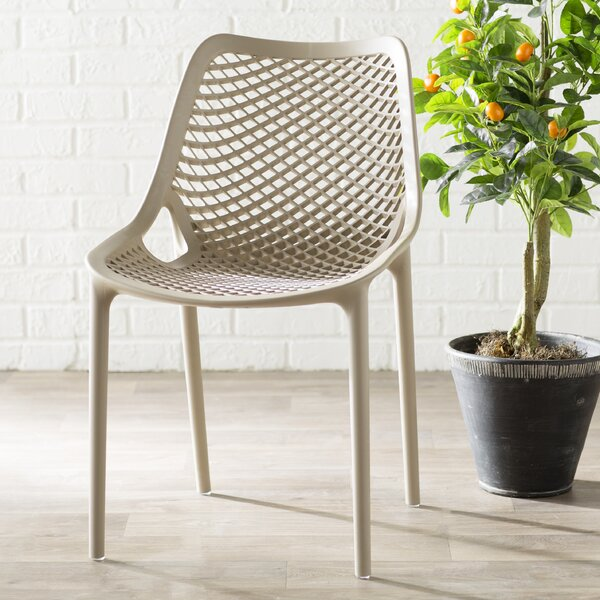New Design Curnutt Stacking Patio Dining Chair (Set Of 2) By Mercury Row Today Sale Only