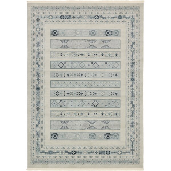 Virginia Cream Area Rug by World Menagerie