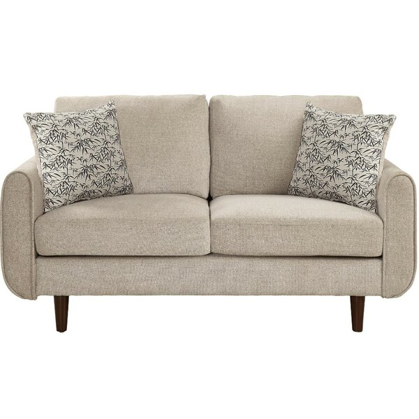 New High-quality Tomblin Loveseat by Ebern Designs by Ebern Designs