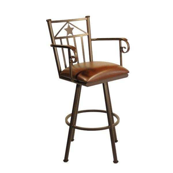 Lonestar 34 Swivel Bar Stool by Callee