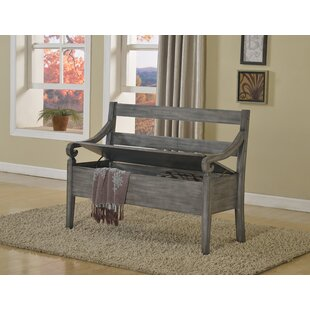 Reviews Rogowski Wood Storage Bench By Charlton Home