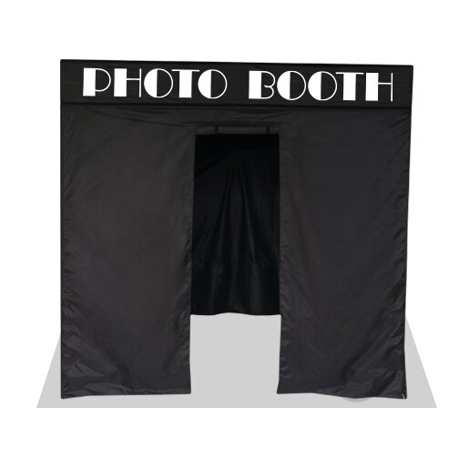 Photo Booth 8 Ft. W x 8 Ft. D Steel Pop-Up Canopy by Impact Instant Canopy
