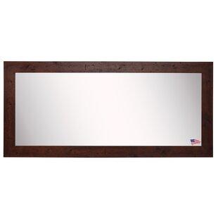 Loon Peak Rustic Dark Walnut Accent Mirror