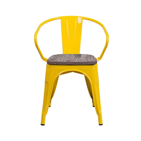 Lorie Stacking Patio Dining Chair by Williston Forge