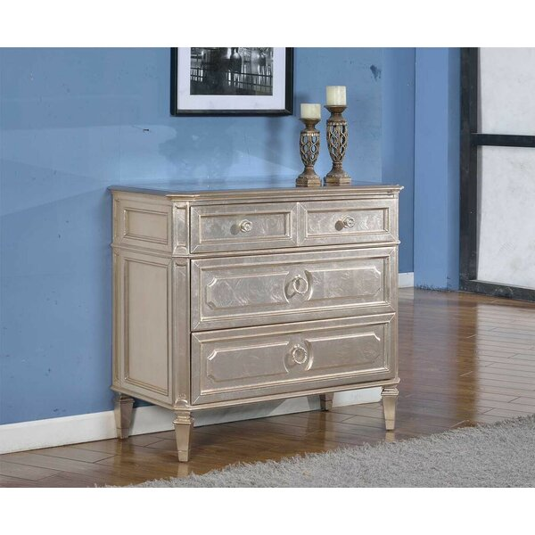 Scheller 3 Drawer Chest by House of Hampton