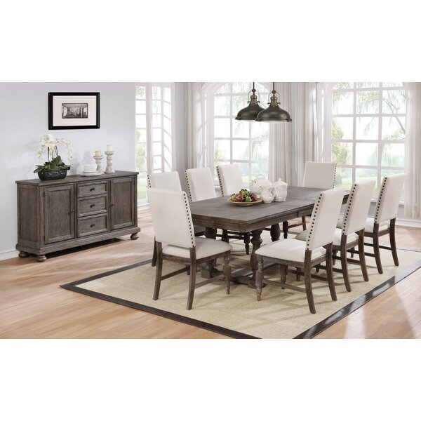 Tara 9 Piece Extendable Dining Set by Gracie Oaks