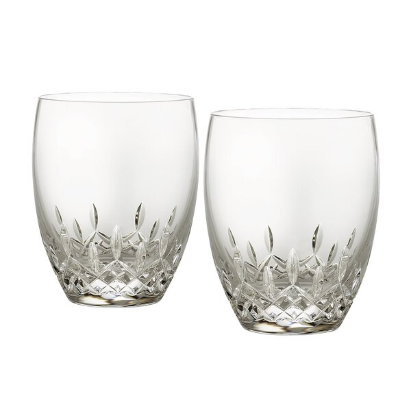 Lismore Essence Double Old Fashioned Glass (Set of 2) by Waterford
