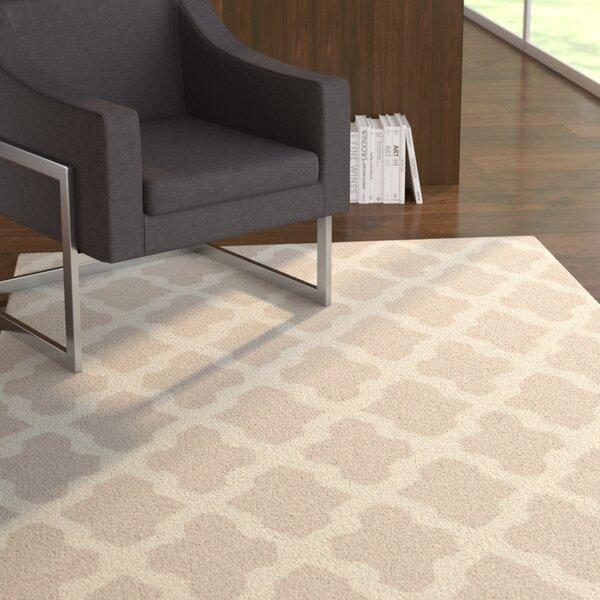 Bangor Gray Geometric Area Rug by Ebern Designs