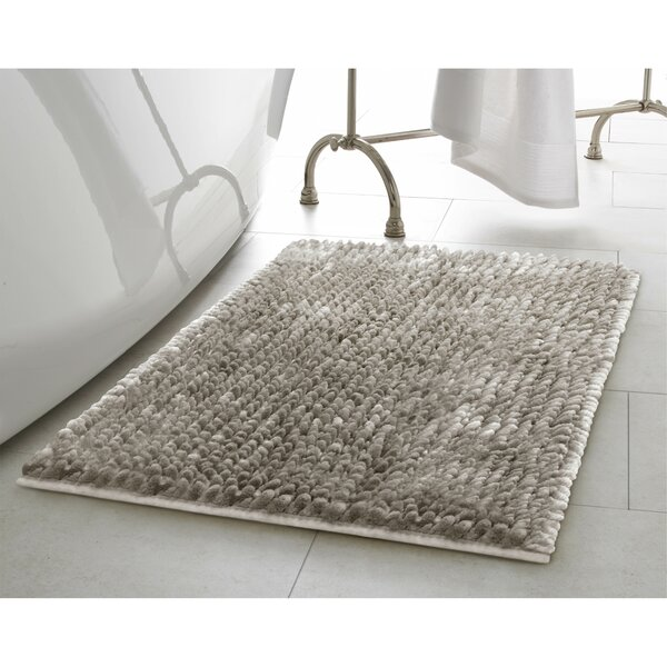 2 Piece Butter Chenille Bath Rug Set by Laura Ashley Home
