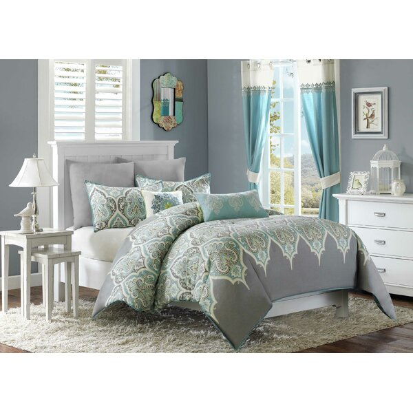 Lowall 5 Piece Duvet Cover Set by Bungalow Rose