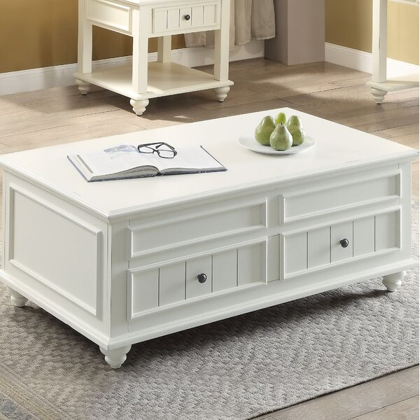 Sara Coffee Table with Lift Top by Rosecliff Heights Rosecliff Heights