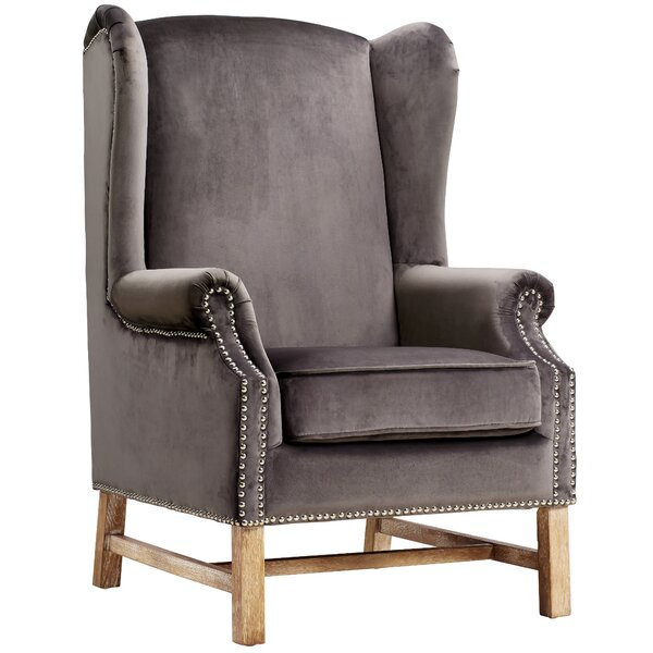 Roffe Wingback Chair by Willa Arlo Interiors