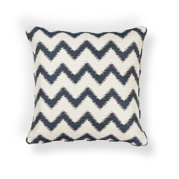 Mcentee Indoor/Outdoor Chevron Throw Pillow by Brayden Studio