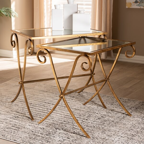 Sellner 2 Piece Nesting Tables by World Menagerie