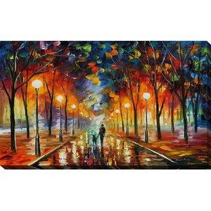 Friendship by Leonid Afremov Painting Print on Wrapped Canvas by Picture Perfect International