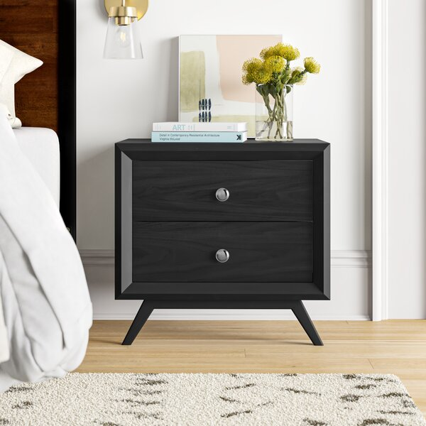 Arabella 2 Drawer Nightstand by Foundstone