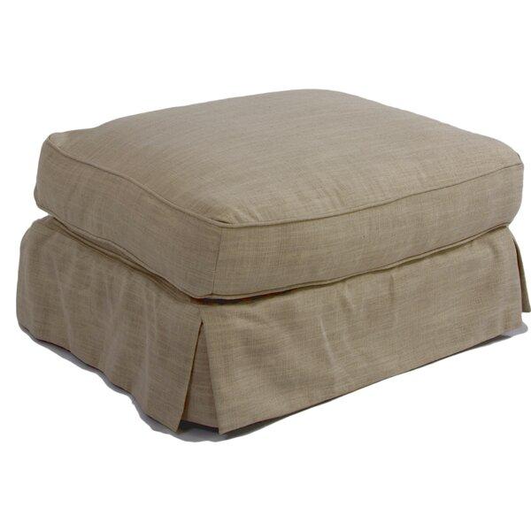 Telluride Box Cushion Ottoman Slipcover By Laurel Foundry Modern Farmhouse