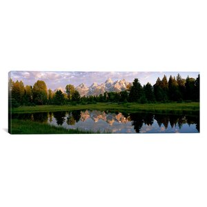 'Grand Teton Park, Wyoming' Photographic Print on Canvas by East Urban Home