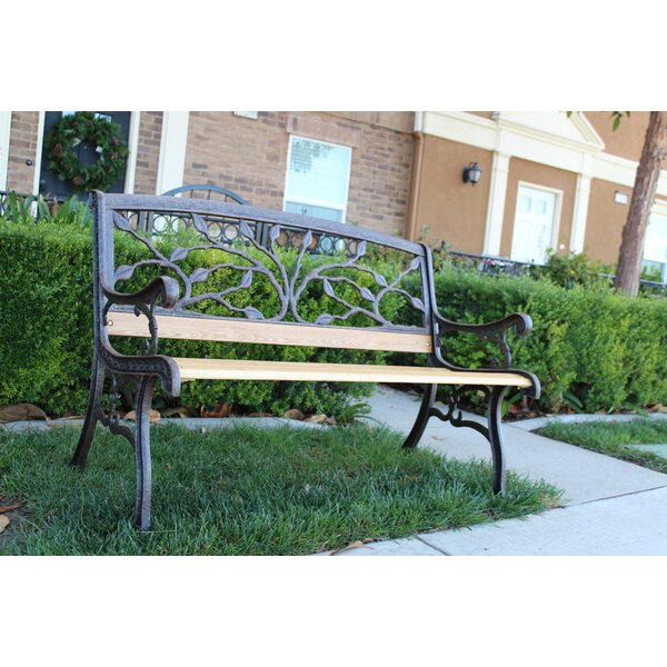 Gualtieri Iron Park Bench by Charlton Home Charlton Home