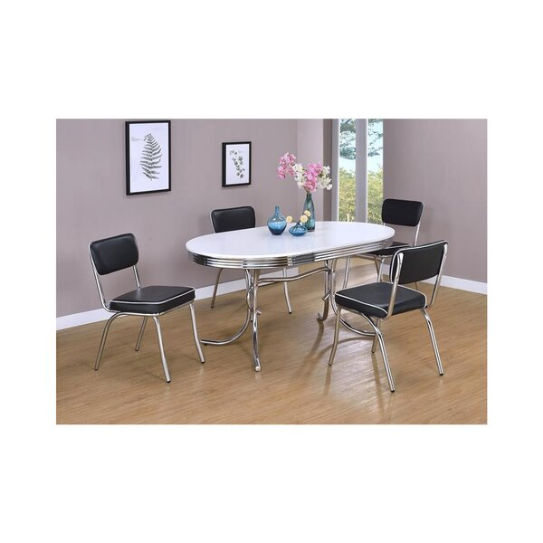 New Design Yother 5 Piece Dining Set By Orren Ellis 2019 Sale