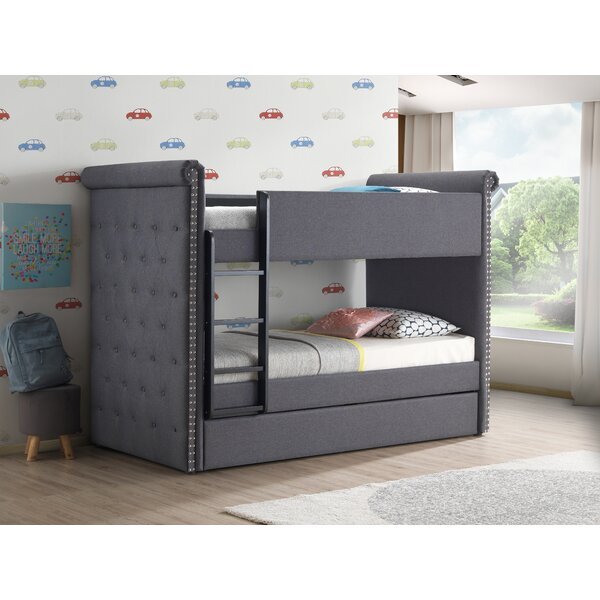 Feaster Twin Bed With Trundle By Harriet Bee by Harriet Bee Cool