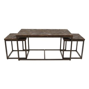 Nolasco 3 Piece Coffee Table Set  sc 1 st  Wayfair & Charles 3 Piece Coffee Table | Wayfair